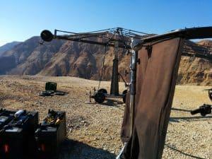 צילומי חוץ במדבר