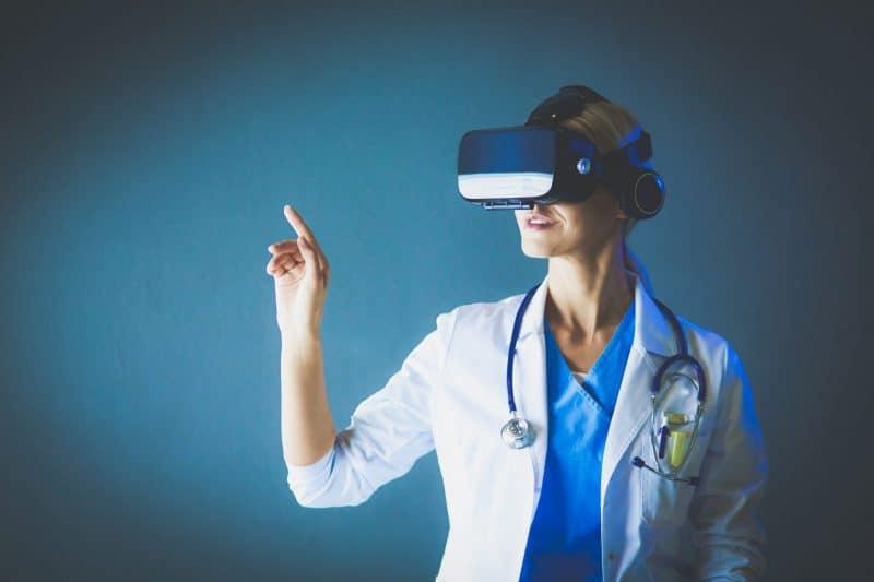 מציאות מדומה בעולם הרפואה